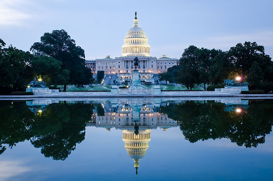 Although the capital of the United States is Washington, D.C., it is not the country's largest city.
