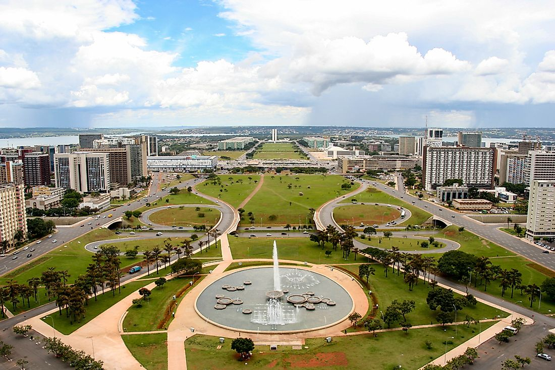 Brasilia was intentionally designed to be the capital of Brazil.