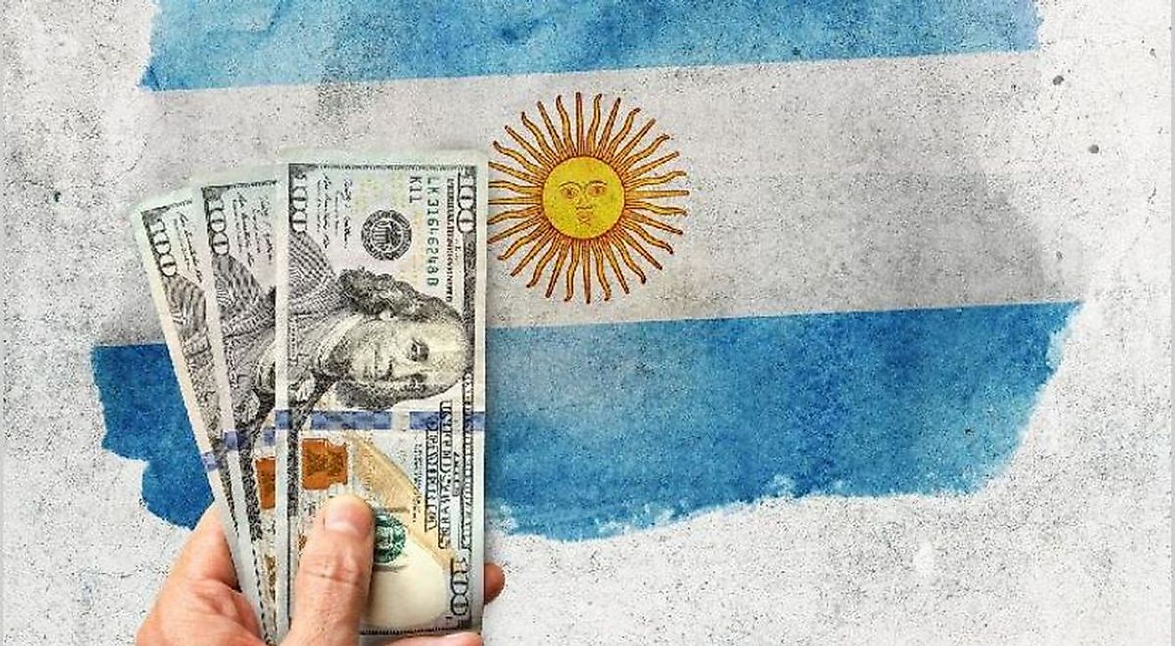 Argentina is struggling with an economic crisis that has seen the peso lose two-thirds of its value since 2018.