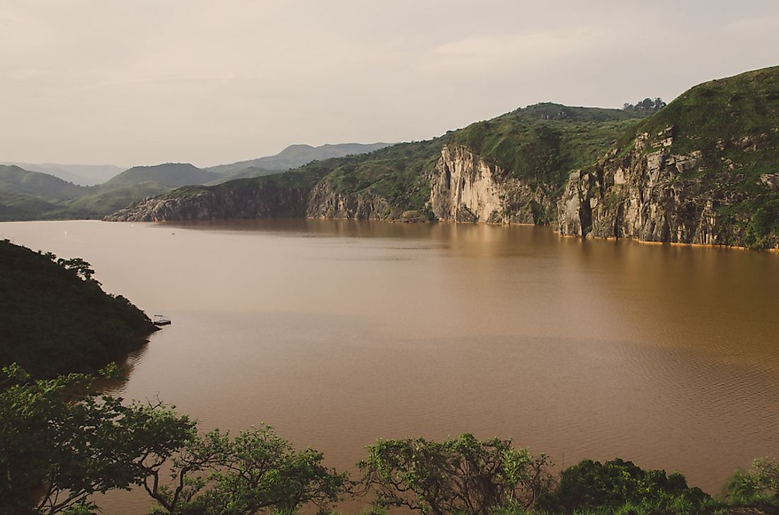 Lake Nyos has been the site of all of the world's limnic eruptions.