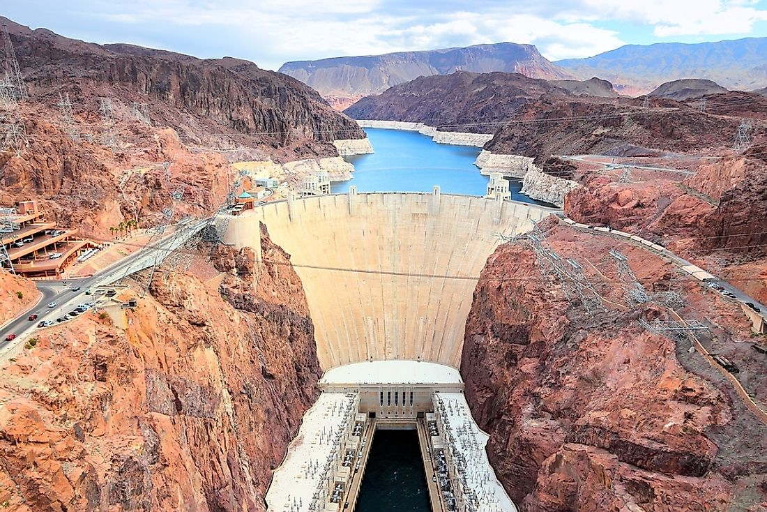 The Hoover Dam, arguably the most famous dam in the world.