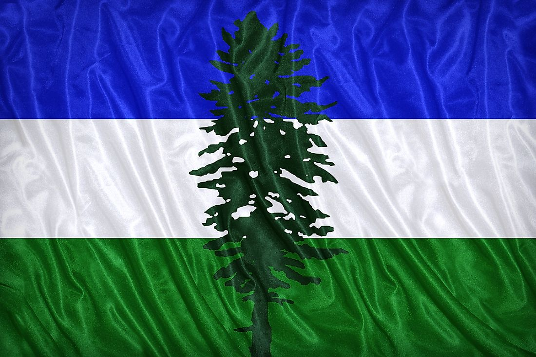 The flag of the Cascadia bioregion movement, known as the Doug flag.
