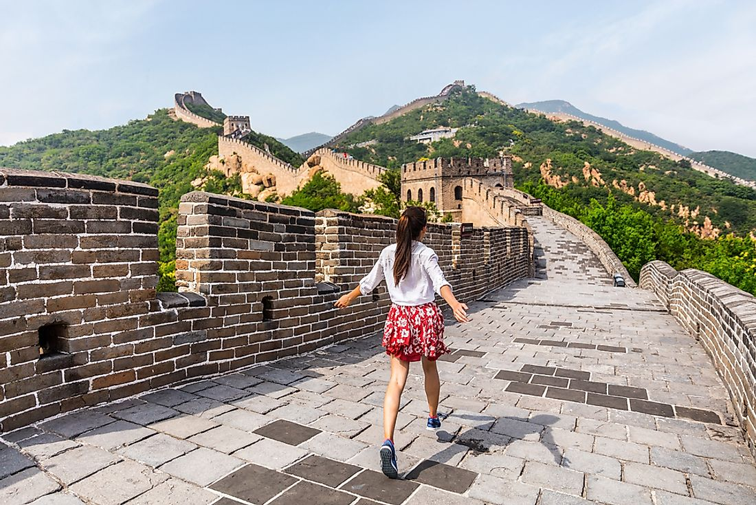 The Great Wall of China is one of the most famous tourist attractions in all of Asia.