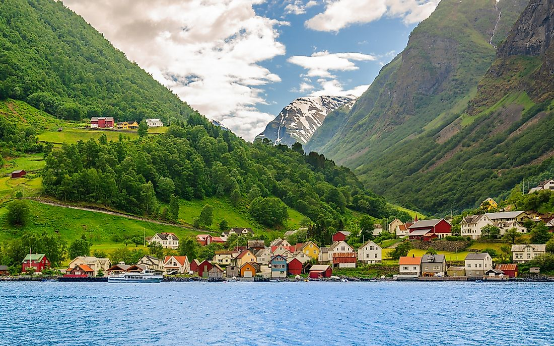 Norway is known for its long, rugged, and indented coastline.