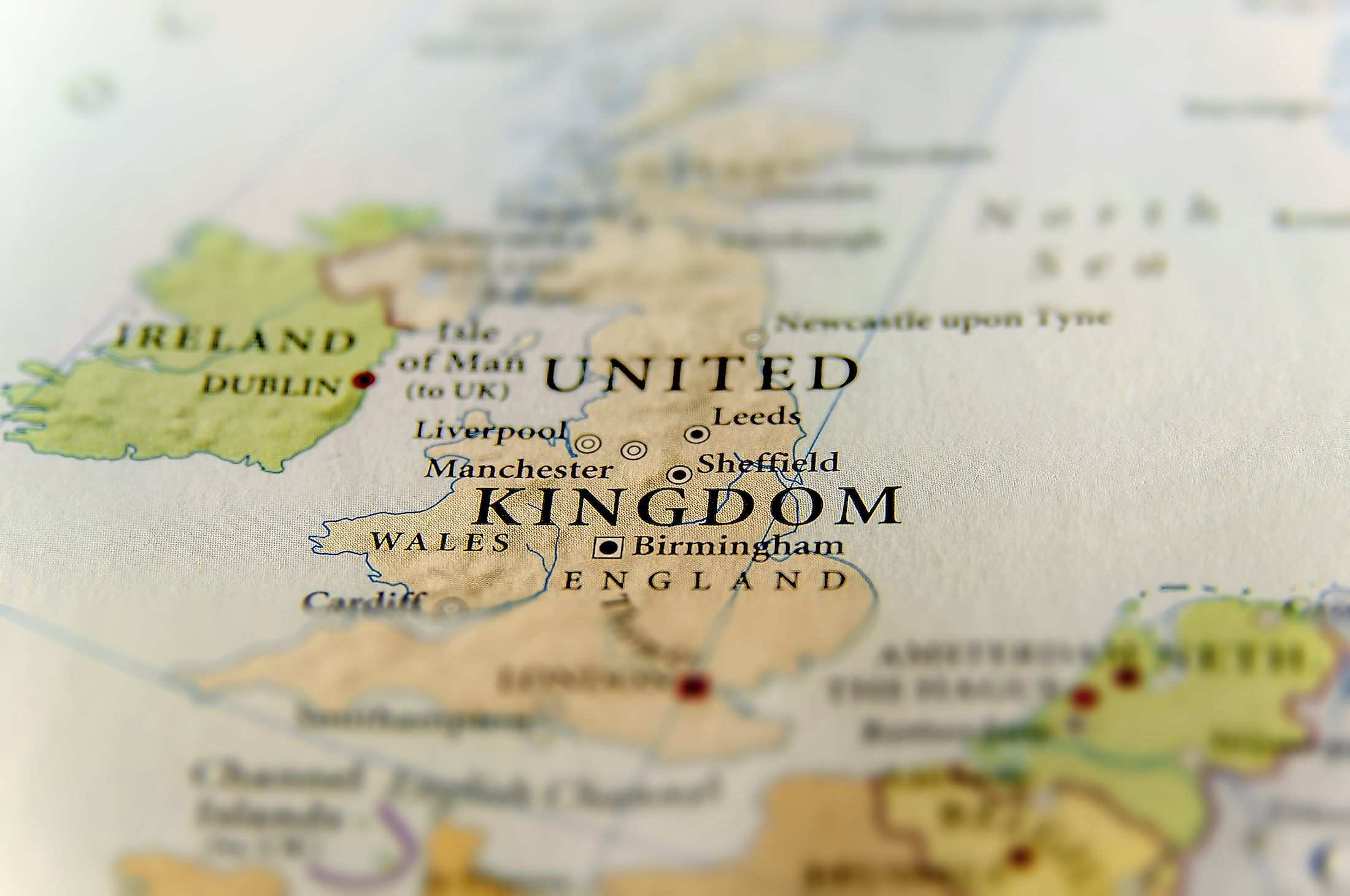 Geographic map of the United Kingdom with its constituent countries. Image credit: Bennian/Shutterstock