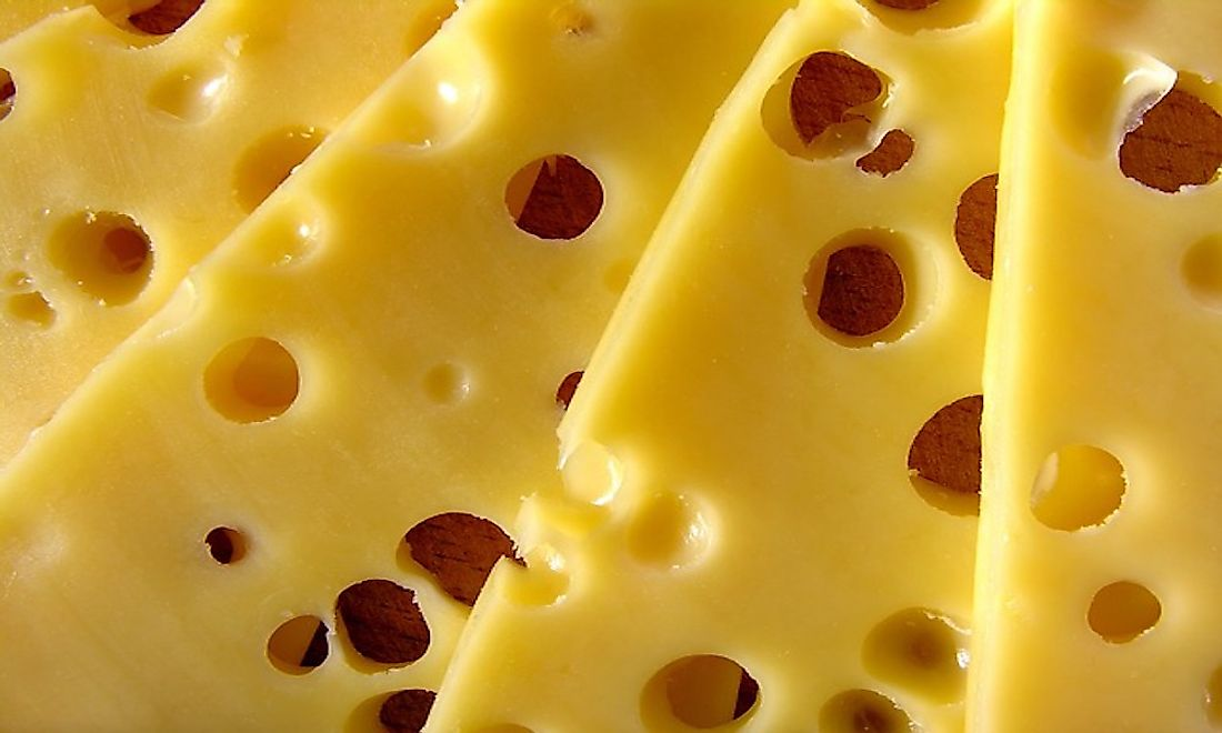 Cheese is produced in a wide range of flavors, textures, and forms in different parts of the world.