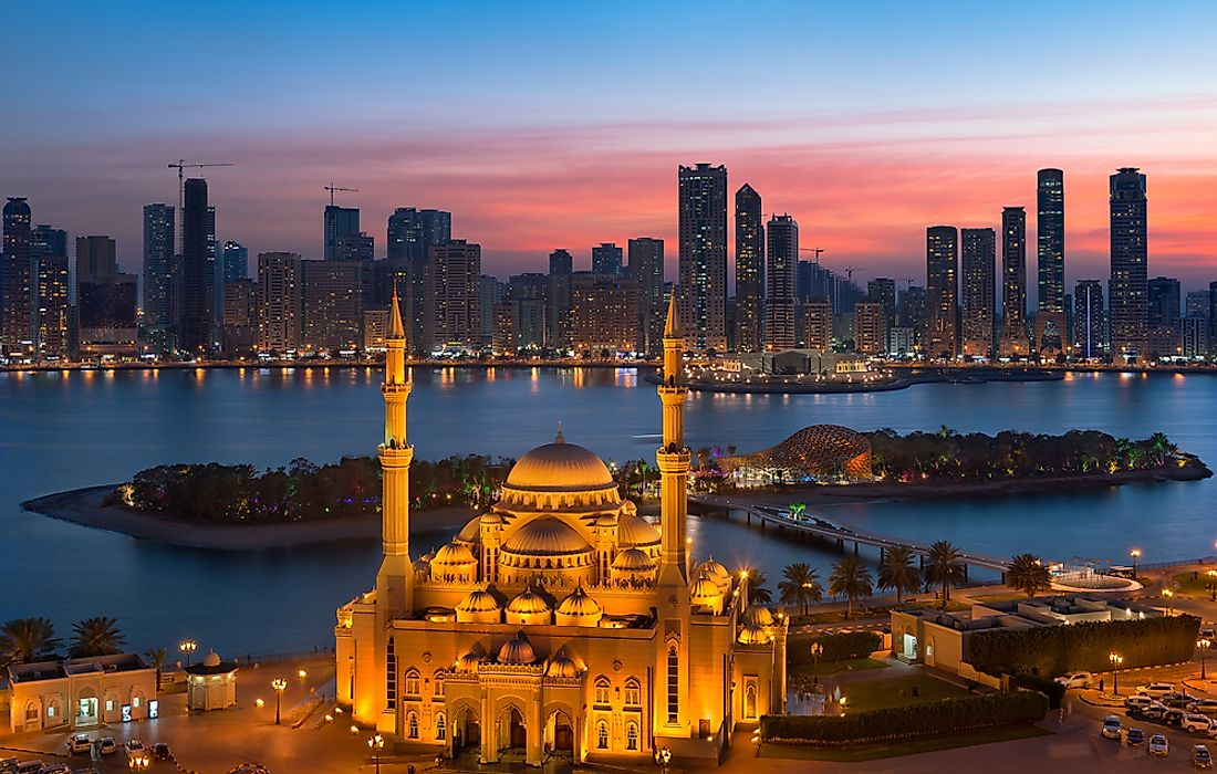 The Seven Emirates of the UAE - WorldAtlas com