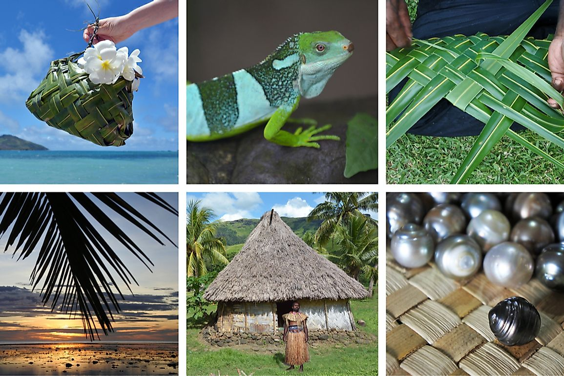 Fiji is a popular tourist destination for its local culture and breathtaking views.