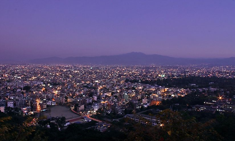 Kathmandu, the capital city of Nepal is located in the Kathmandu Valley.