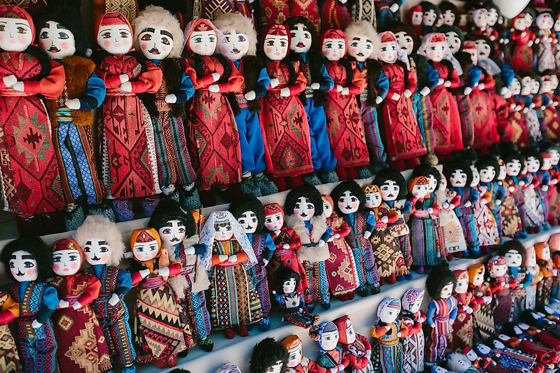 Traditional Armenian dolls.