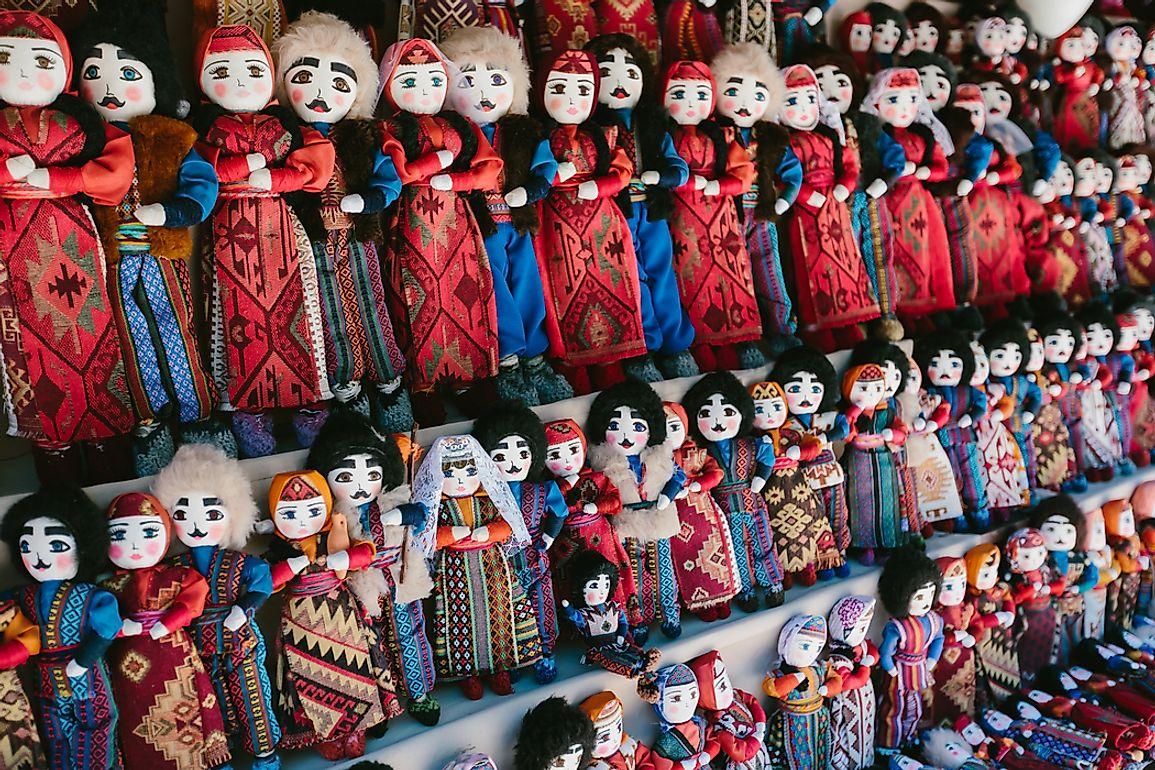 Traditional Armenian dolls.