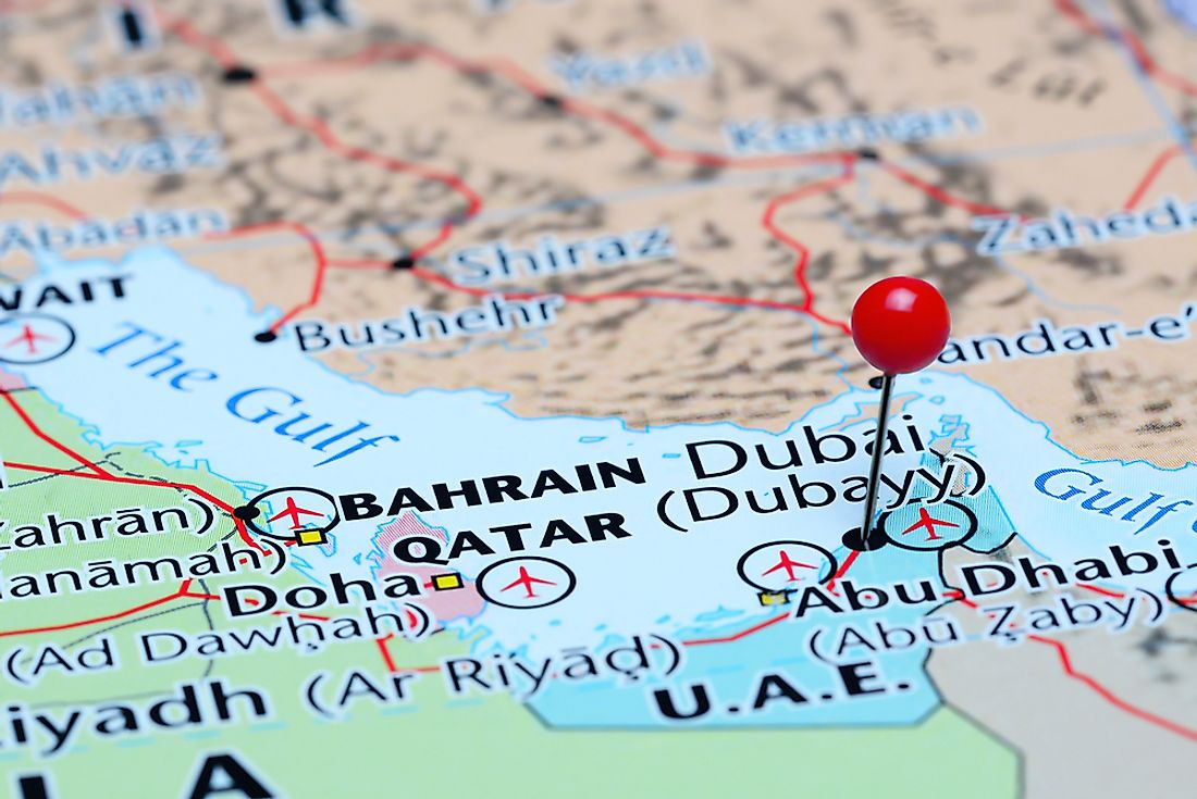 Dubai is the most populous and largest city in the UAE.