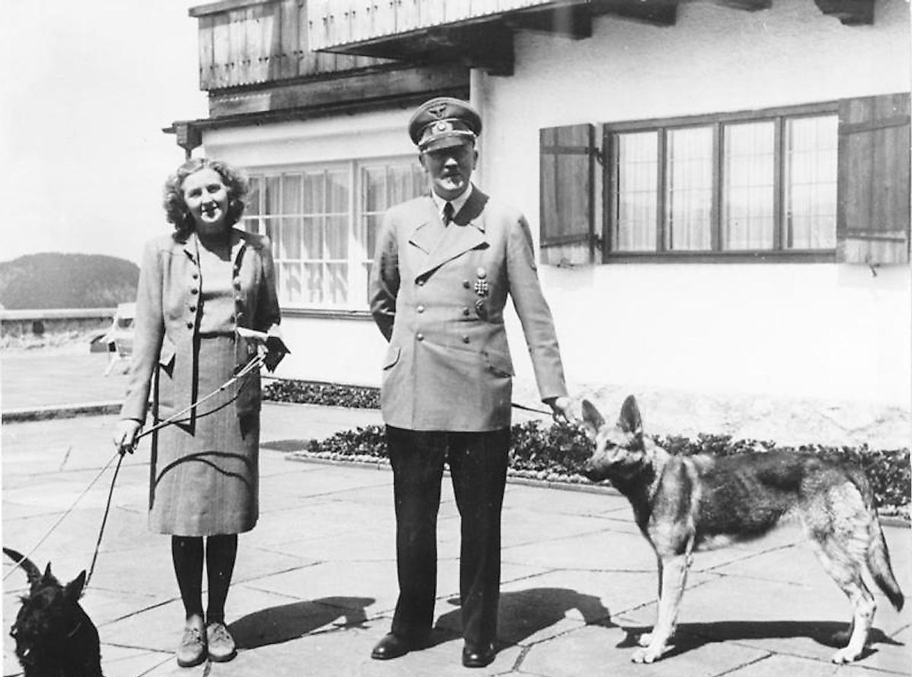 Despite repeated assassination attempts, Hitler survived till he took is own life. Eva Braun, his wife for 40 minutes and long-term companion, also committed suicide with him.