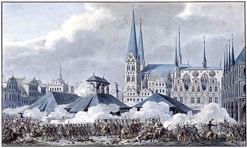 #4 Battle of Lübeck (November of 1806) -