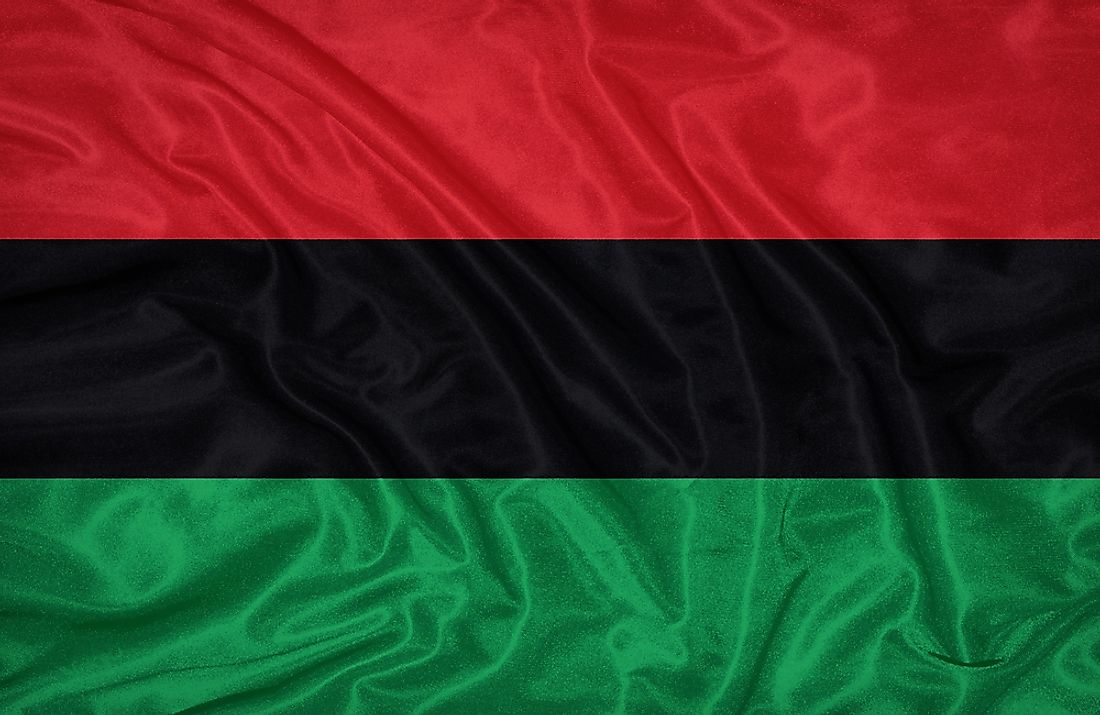 Many African nations use the colors of the Pan-African flag.