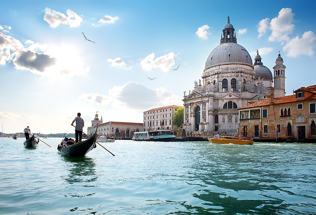 Venice, one of Italy's most cities, is located in Veneto region in the country's northeast.