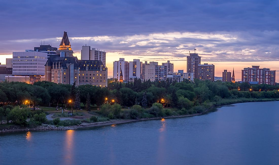 Saskatoon, the largest city in Saskatchewan, is considered to be one of the province's best places to live.