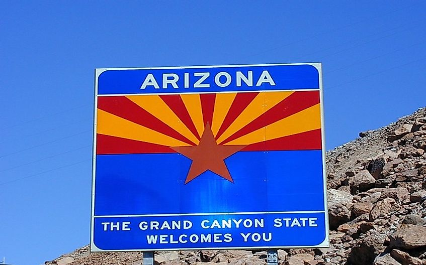 Arizona, best known for the Grand Canyon is the 14th most populated US state.