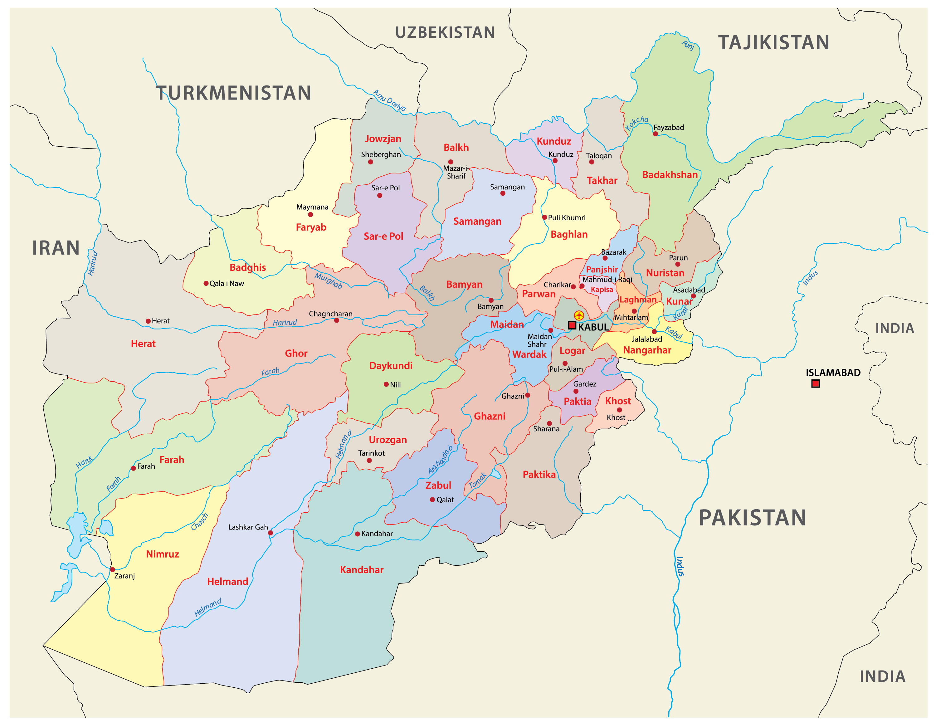 Picture of: Afghanistan Maps Facts World Atlas