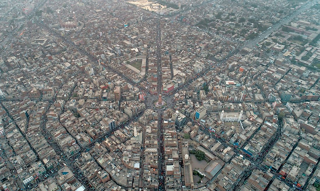 The Largest Cities in Pakistan - WorldAtlas com
