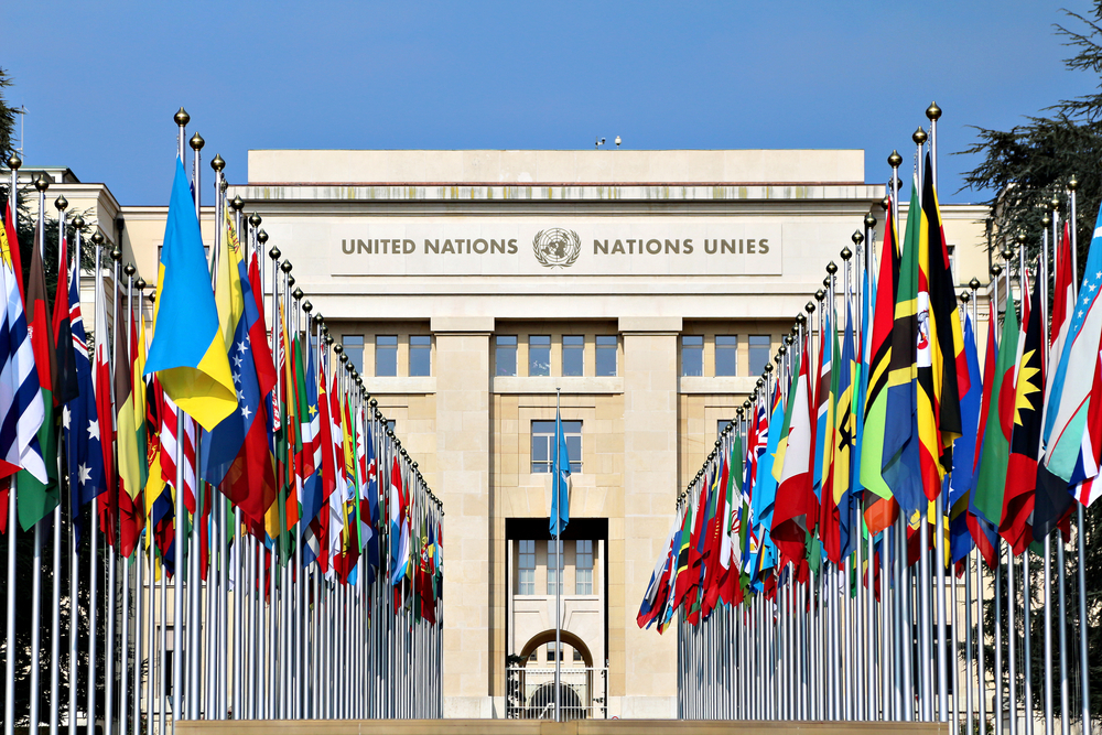 The United Nations recognized 193 member states. Editorial credit: SAPhotog / Shutterstock.com