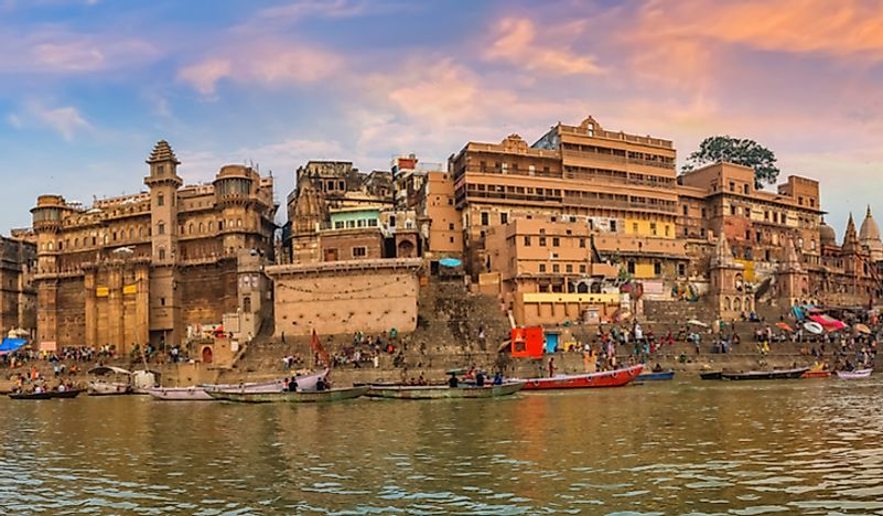 Varanasi is a holy city of Hinduism.