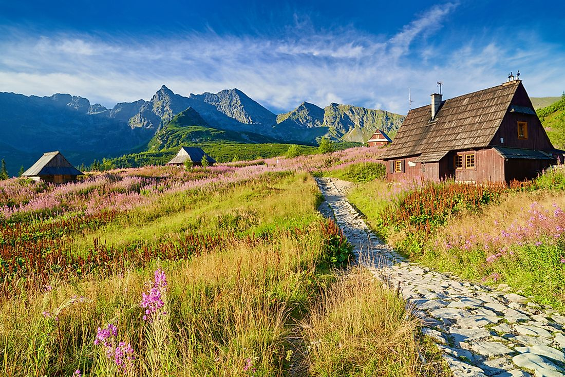 A structure in Tatra National Park, Poland.