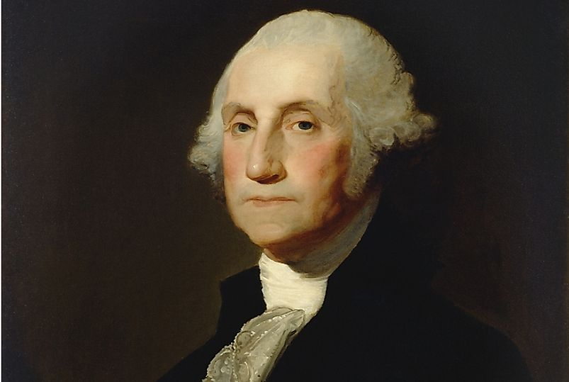 George Washington served the country as president for two terms.
