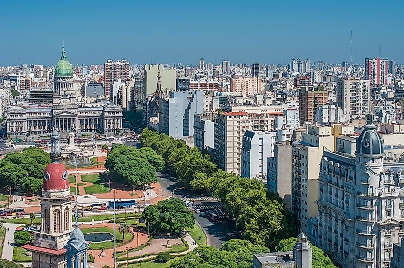 the biggest cities in argentina worldatlas com