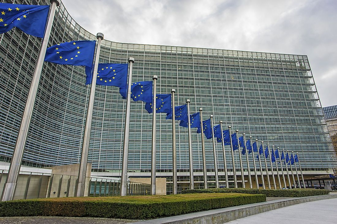European Commission in Brussels, Belgium. Editorial credit: glen photo / Shutterstock.com