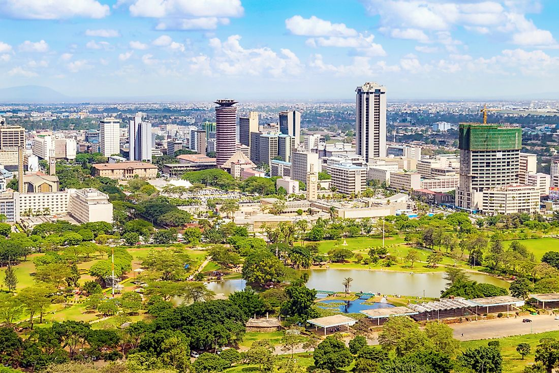 Nairobi is the most populous city of Kenya.