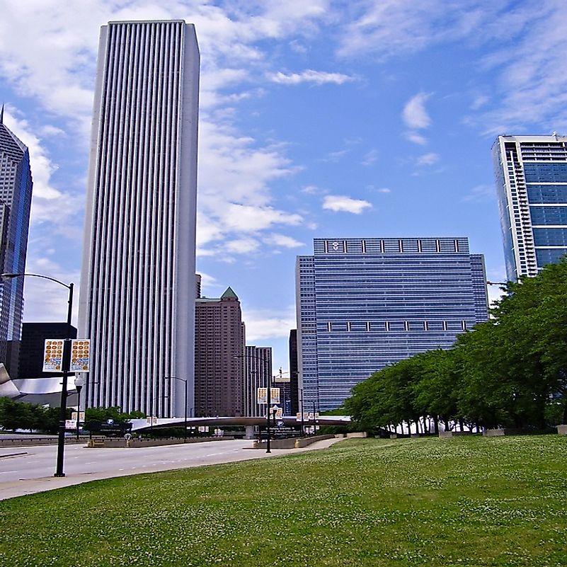 #6 Aon Center, Chicago - 1,136 Feet