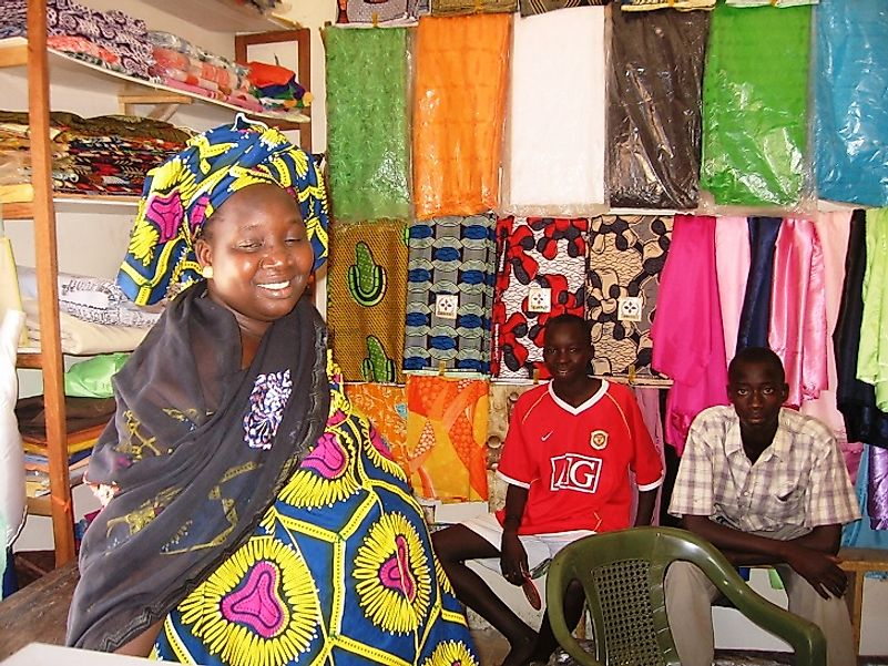With few resources proffered by their government, these quilters in Guinea-Bissau turned to foreign NGO microloans to help finance their business.