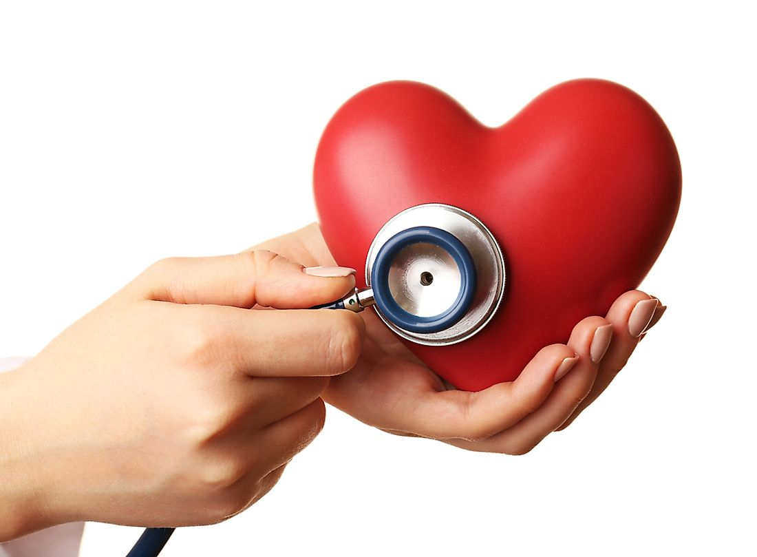 Heart disease is one of the leading causes of death in Canada.