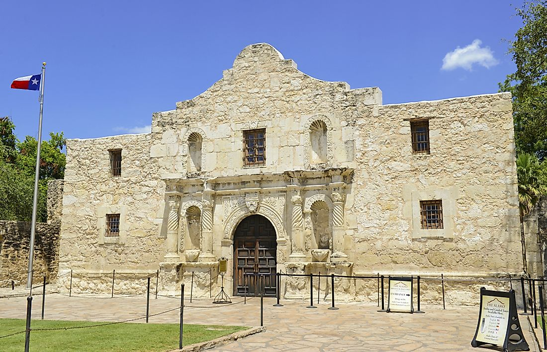 The Battle of the Alamo in San Antonio, Texas is considered to be one of the determining battles of the Texas Revolution.