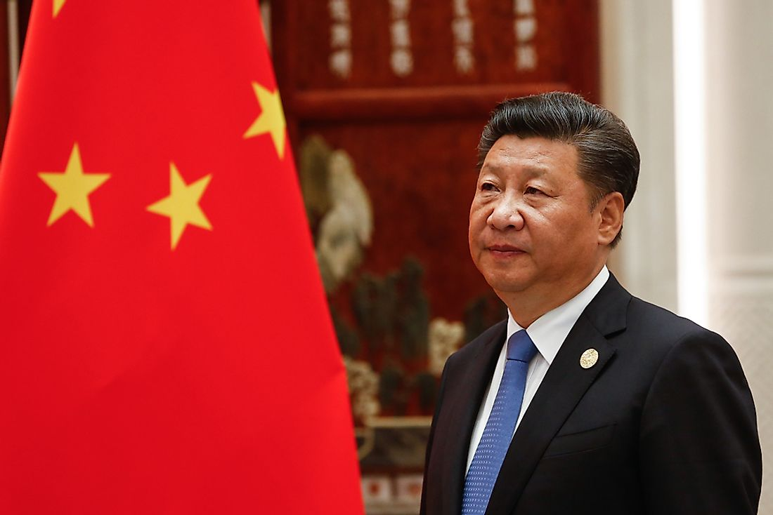 Xi Jinping, the incumbent leader of China. Editorial credit: Gil Corzo / Shutterstock.com.