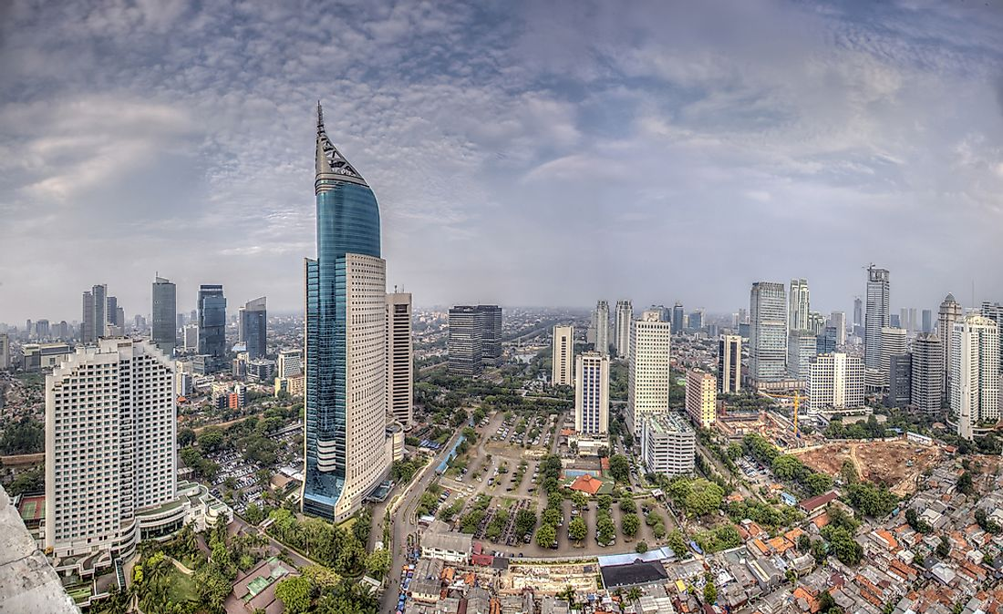 The tallest buildings in Jakarta were architecturally inspired by many different cultures.