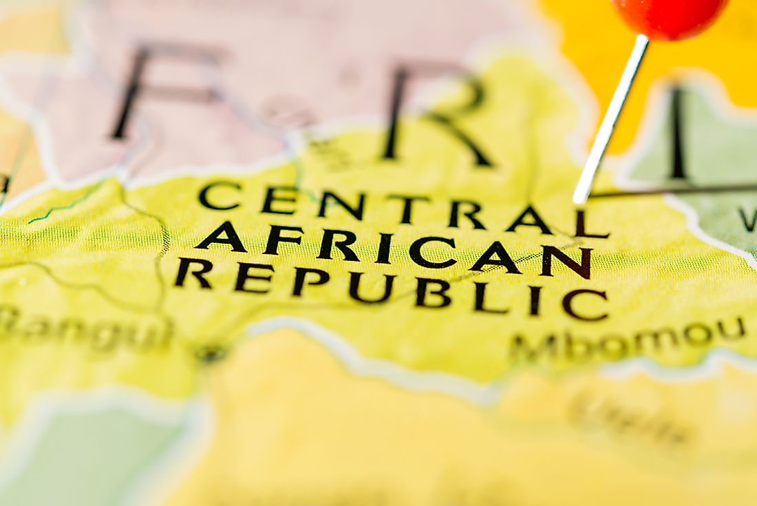 The Central African Republic ranks as the poorest country in Africa as well as the world.