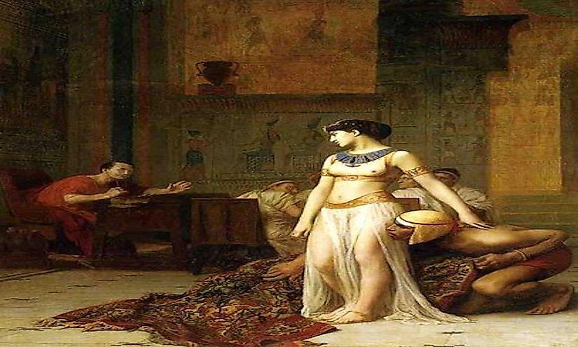 Cleopatra and pharaoh - 1 part 8