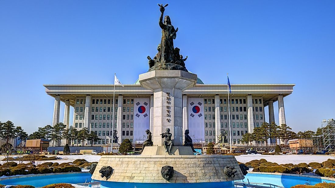 The National Assembly Building of South Korea. Editorial credit: Sean Pavone / Shutterstock.com.