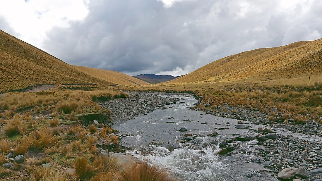 Although Bolivia is landlocked, it is home to many rivers.