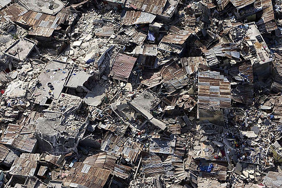 Haiti Earthquake of 2010 WorldAtlas