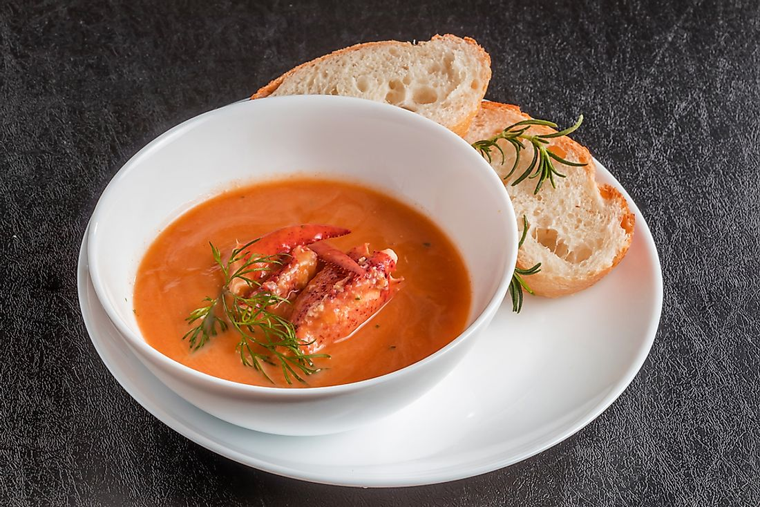 A lobster bisque.