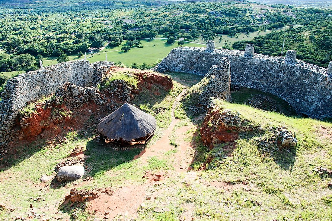 Ruins of Great Zimbabwe, a medieval city erected by the ancestral Shona.