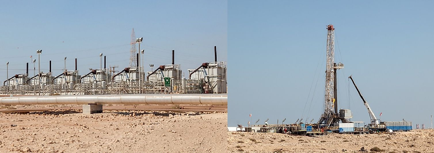 Kuwait's petrochemicals resources drive what is by far the country's most lucrative economic sector.