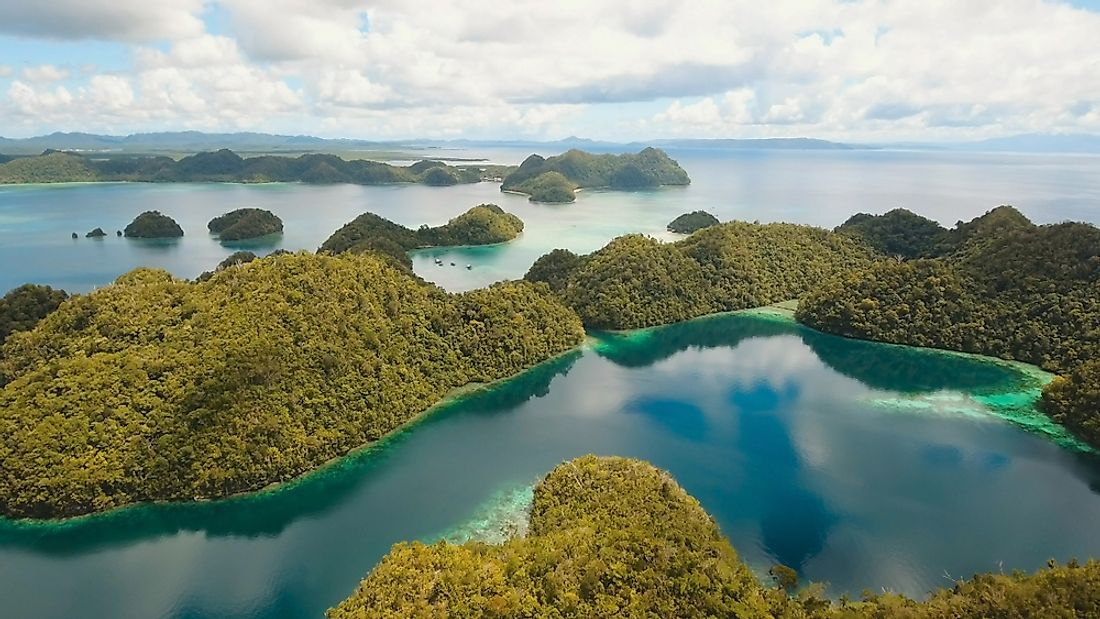 The Philippines is made up of several thousand islands of varying sizes.