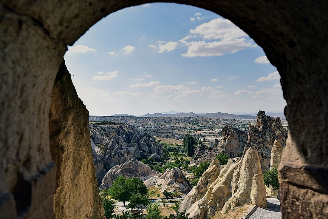 The Goreme Open Air Museum, Turkey.