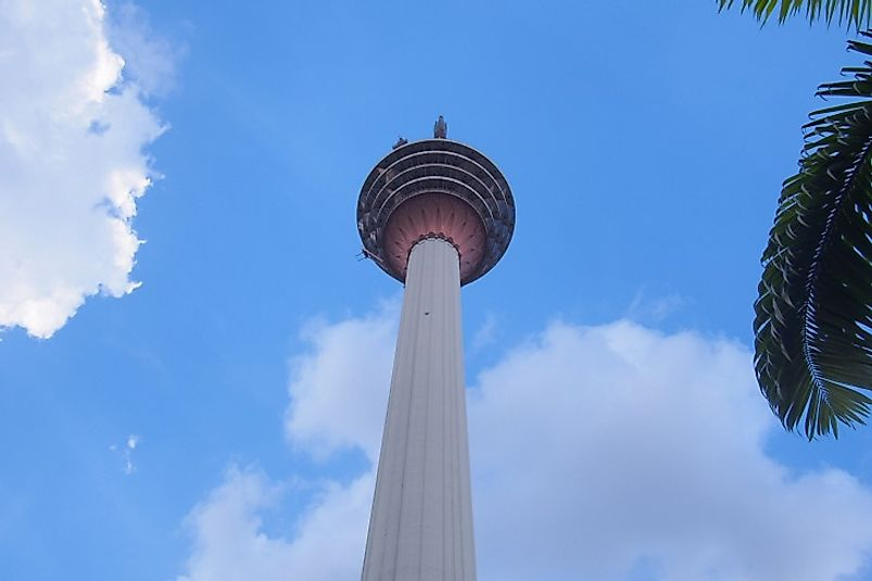 #7 Menara Kuala Lumpur, Malaysia - 1,379 Feet