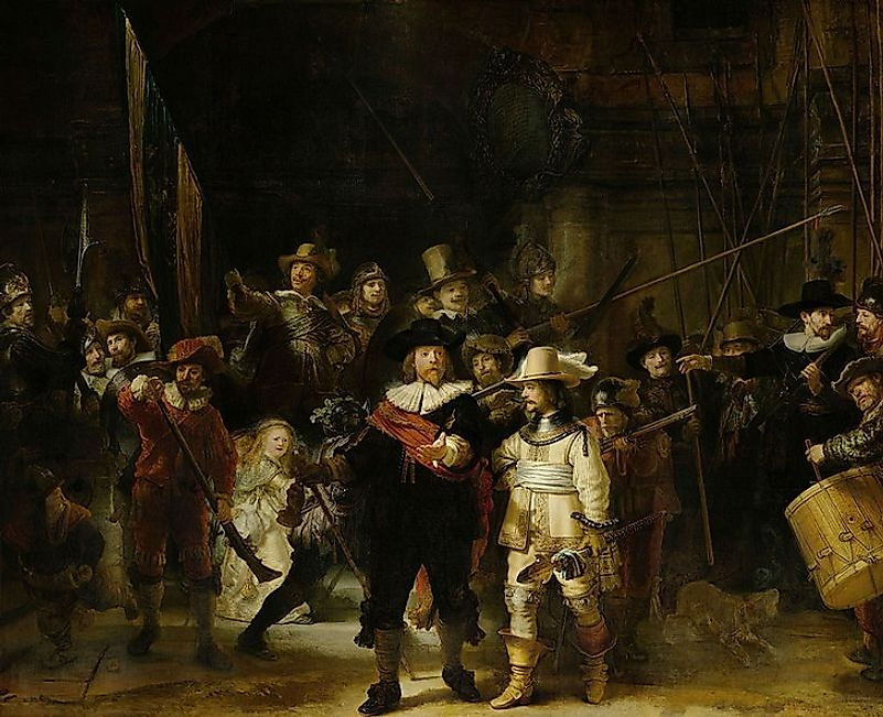 "Rembrandt's ""The Night Watch""."