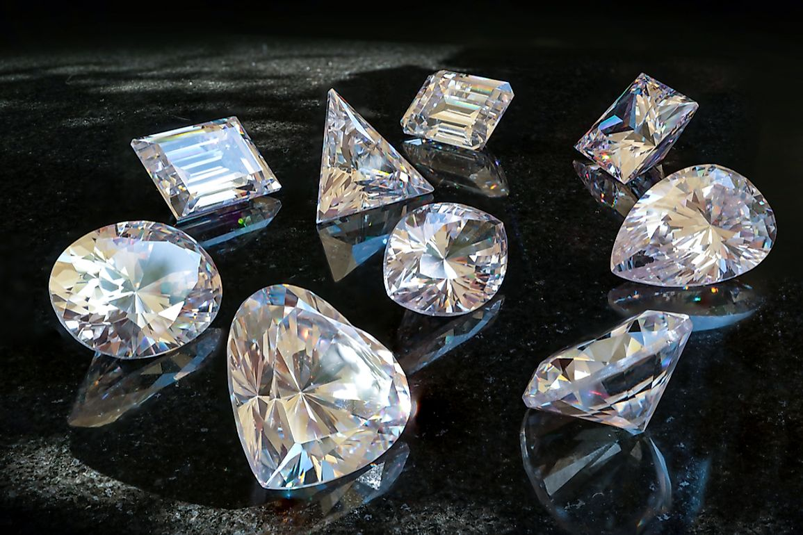These minerals are significant contributors to total GDP in many of the world's countries.